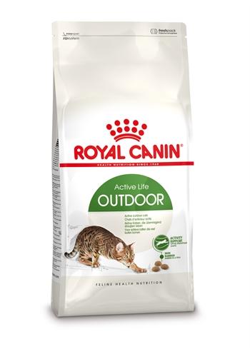 Afbeelding Royal Canin Outdoor kattenvoer 2 kg door Webshopvoorkatten.nl